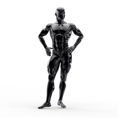 muscular sports man