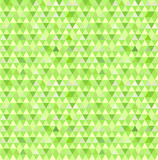Green mosaic pattern.