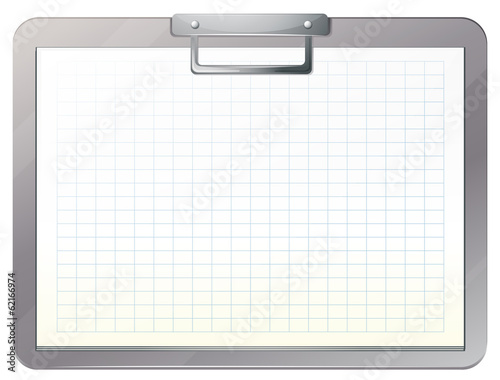 An empty medical nurse file