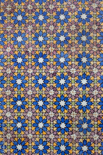 Vintage Tiles / Pattern / Architectural decoration /  hand made