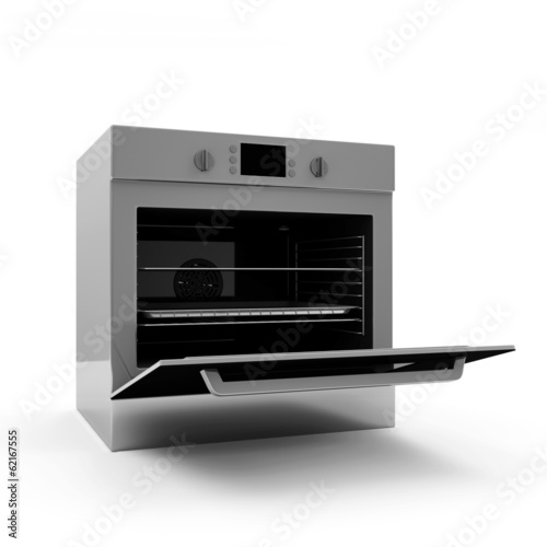 Oven isolated on white background