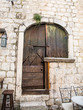 Ancient Bolted Door in Kotor
