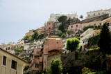 Homes on Steep Positano Hill