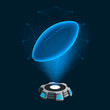 Hologramm Icon Football
