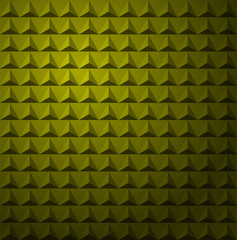 Yellow Triangles Studded Abstract Vector Background eps10