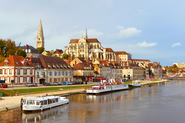 Auxerre,Burgundy,France