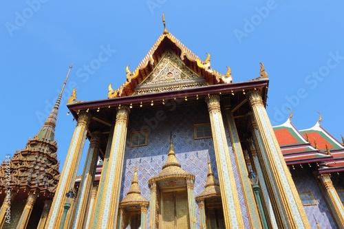 Bangkok, Thailand - Temple of the Emerald Buddha