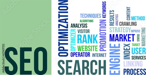 word cloud - seo