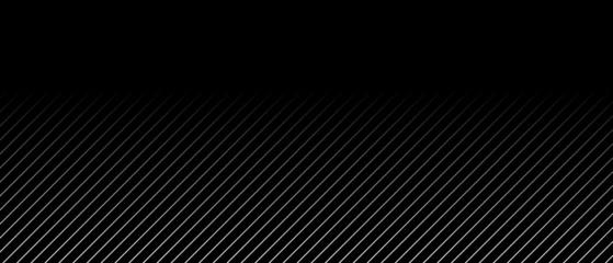 Schwarzer Hintergrund und schräge helle Linien mit Farbverlauf