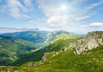 Summer Tatra Mountain, Poland