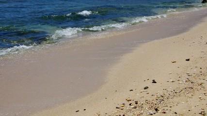 Strand mit Wellen vid 08