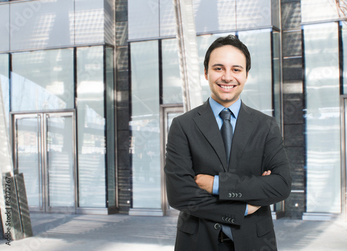 Friendly businessman