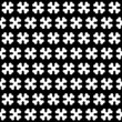 Bone Black and White Seamless Pattern
