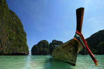 Boat on sea, Thailand