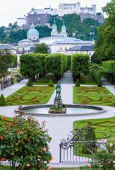 Summer Gardens of Mirabell Palace (Salzburg, Austria)