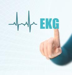 EKG - heart rate
