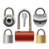 Set of Padlocks