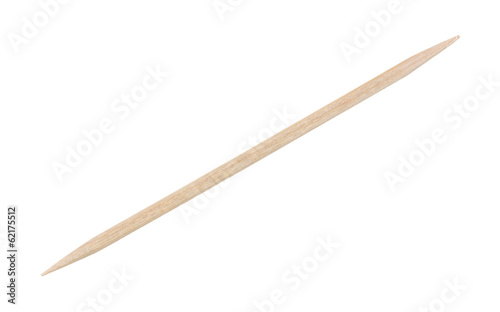 Single Thin Wooden Tooth Pick