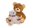 Mutter Kind Beziehung: Teddybären Familie isoliert
