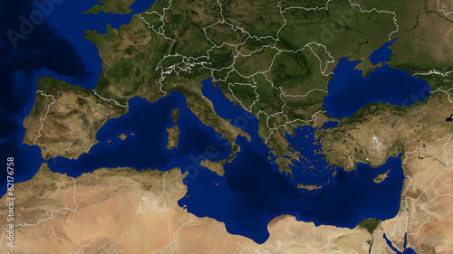 Mediterranean Sea - Day
