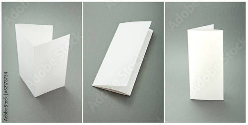 set white booklets