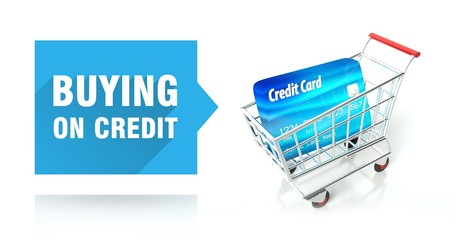 Buying on credit card with shopping cart
