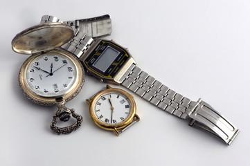 Les vieilles montres