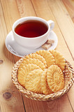 Cookies and cup of tea