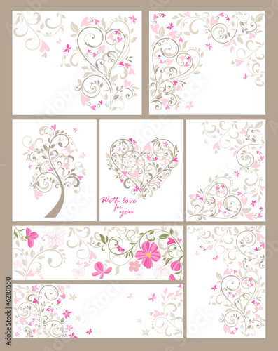 Collection of beautiful greetings