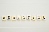 ADDICTION word