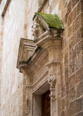 Anciant church wall detail