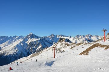 ski resort Dombaj