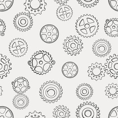 pattern with gears