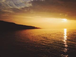 Meer / Sonnenuntergang