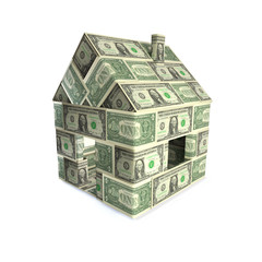 Haus aus Dollars