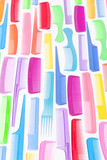 Neon Comb Background
