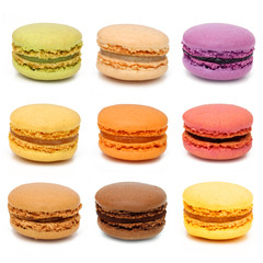 Macarons - French pastries © Brad Pict