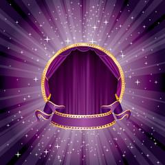 purple magic stage