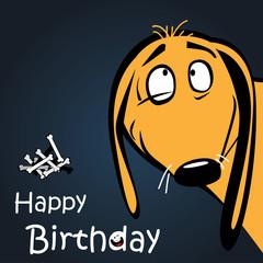 Happy Birthday dog smile