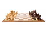 complete wooden chess set