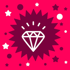 star sign with a diamond