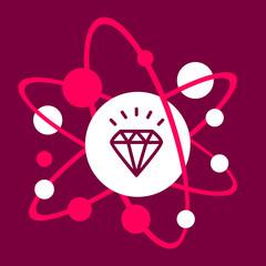 the molecular composition of a diamond