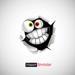 Happy Birthday smile greetings