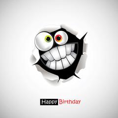 Happy Birthday smile greetings