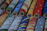 Rolls of cotton, provencal patterns