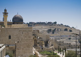 A Photo of Old City and Temple Mount in Jerusalem