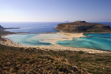 Große blaue Lagune in Balos auf Kreta