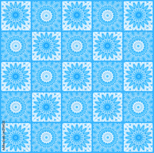 Background with abstract blue pattern