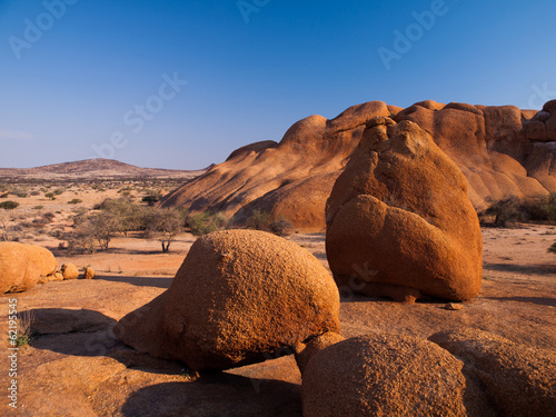Pondoks massive in Spitzkoppe area