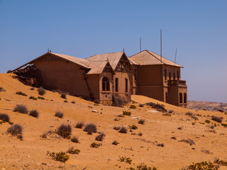 Abandoned house in Kolmanskop ghost village
